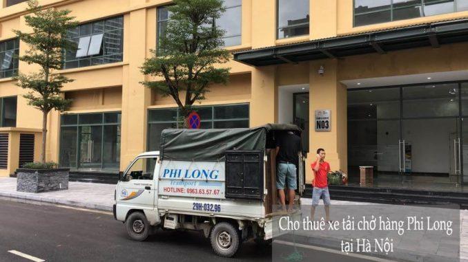 Dịch vụ xe tải chuyển nhà giá rẻ tại phố Mai Xuân Thưởng