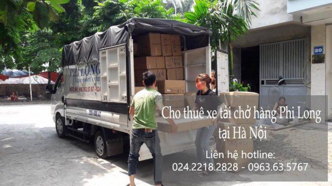 Dịch vụ xe tải chuyển nhà giá rẻ tại phố Duy Tân