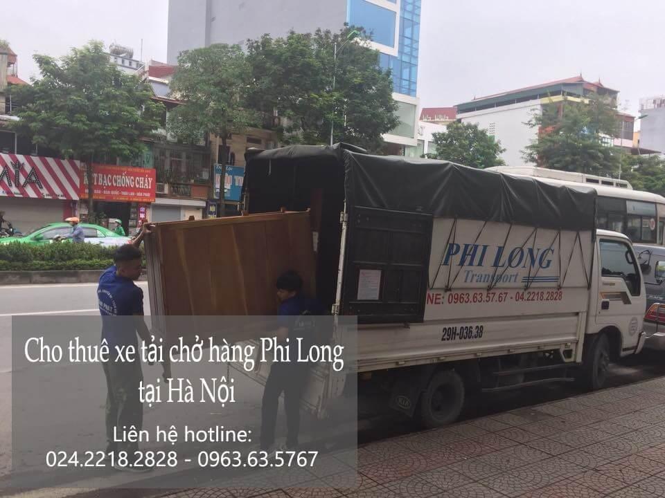 Xe tải chuyển nhà giá rẻ tại phố Đinh Công Tráng