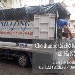 Dịch vụ xe tải chuyển nhà giá rẻ tại phố Hoàng Ngân