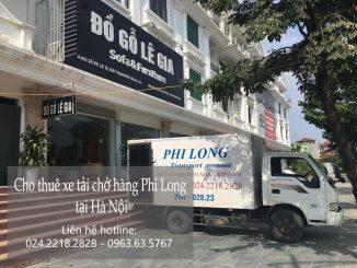 Dịch vụ chuyển nhà giá rẻ tại phố Hoa Lâm