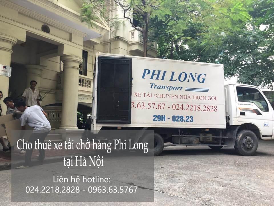 Dịch vụ xe tải chuyển nhà giá rẻ tại phố Dương Khê