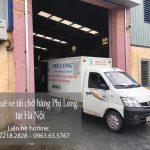Dịch vụ xe tải chuyển nhà giá rẻ tại phố Cầu Gỗ