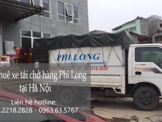 Dịch vụ xe tải chuyển nhà giá rẻ tại đường Hồ Tùng Mậu