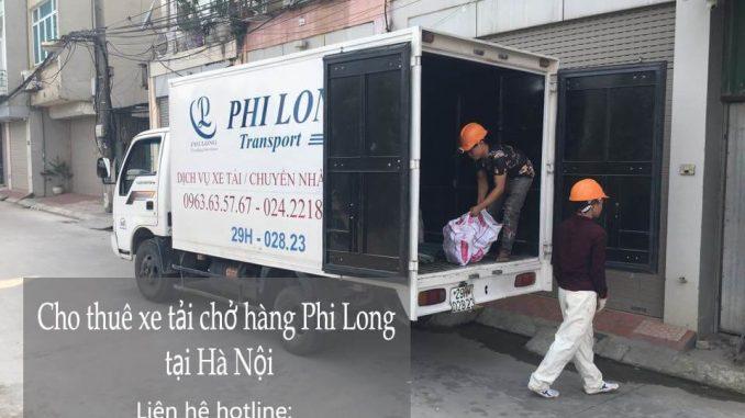 Dịch vụ xe tải chuyển nhà giá rẻ tại phố Hồng Hà