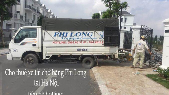 Dịch vụ xe tải chuyển nhà giá rẻ tại phố Đốc Ngữ