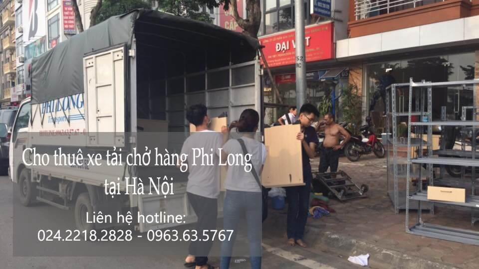 Dịch vụ xe tải chuyển nhà giá rẻ tại phố Lãng Yên