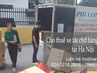 Dịch vụ xe tải chuyển nhà giá rẻ tại phố Nguyễn Khoái
