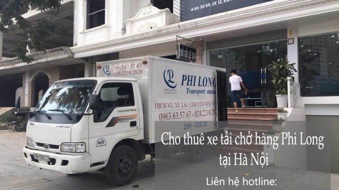 Dịch vụ xe tải chuyển nhà giá rẻ tại đường Lê Duẩn