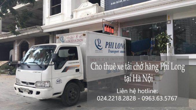 Dịch vụ xe tải chuyển nhà giá rẻ tại phố Liễu Giai