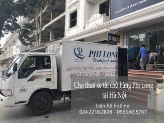 Dịch vụ xe tải chuyển nhà giá rẻ tại phố Hồ Đắc Di