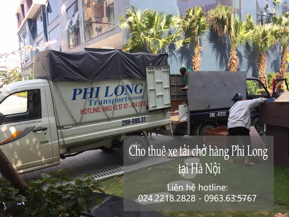 Dịch vụ xe tải chuyển nhà giá rẻ tại phố Đỗ Quang