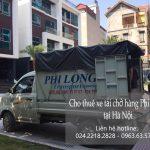 Dịch vụ xe tải chuyển nhà giá rẻ tại phố Cổng Đục