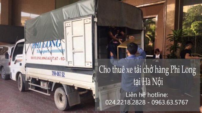 Dịch vụ xe tải giá rẻ tại phố Hàng Chiếu