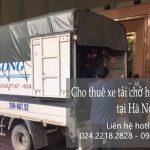Dịch vụ xe tải chuyển nhà giá rẻ tại phố Chả Cá