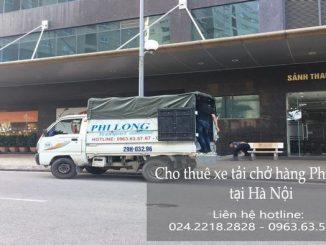 Xe tải chuyển nhà giá rẻ tại phường Tân Mai