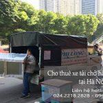 Dịch vụ xe tải chuyển nhà giá rẻ tại phố Đình Ngang