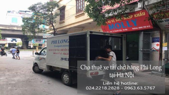 Xe tải chuyển nhà giá rẻ tại phố Chợ Gạo