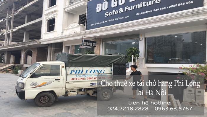 Dịch vụ xe tải chuyển nhà giá rẻ tại phố Hoa Lâm