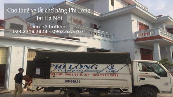 Xe tải chuyển nhà giá rẻ tại phố Đặng Tất