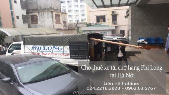 Xe tải chuyển nhà tại phố Đội Nhân
