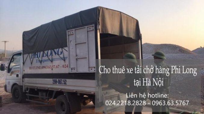 Dịch vụ xe tải chuyển nhà giá rẻ tại phố Hoàng Văn Thái