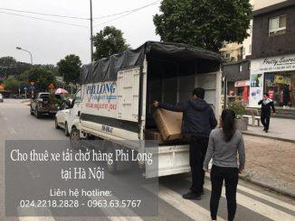 Xe tải chuyển nhà giá rẻ tại phố Đinh Lễ