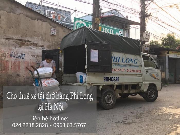 Xe tải chuyển nhà giá rẻ tại phố Hàng Khay