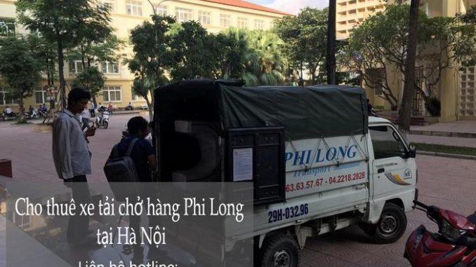 Dịch vụ xe tải chuyển nhà giá rẻ tại phố Khúc Hạo