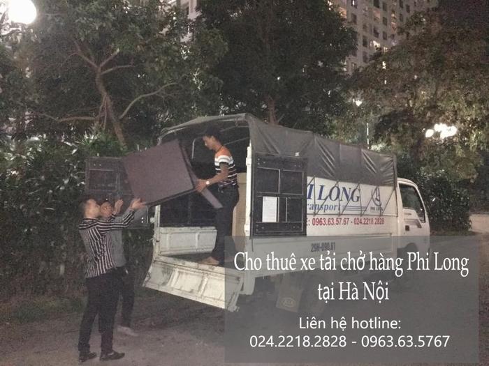 Xe tải chuyển nhà giá rẻ tại phố Hàng Tre
