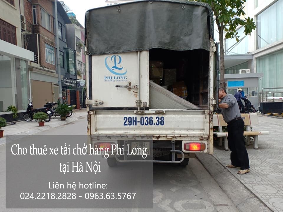 Dịch vụ xe tải chuyển nhà giá rẻ tại phố Lê Quý Đôn