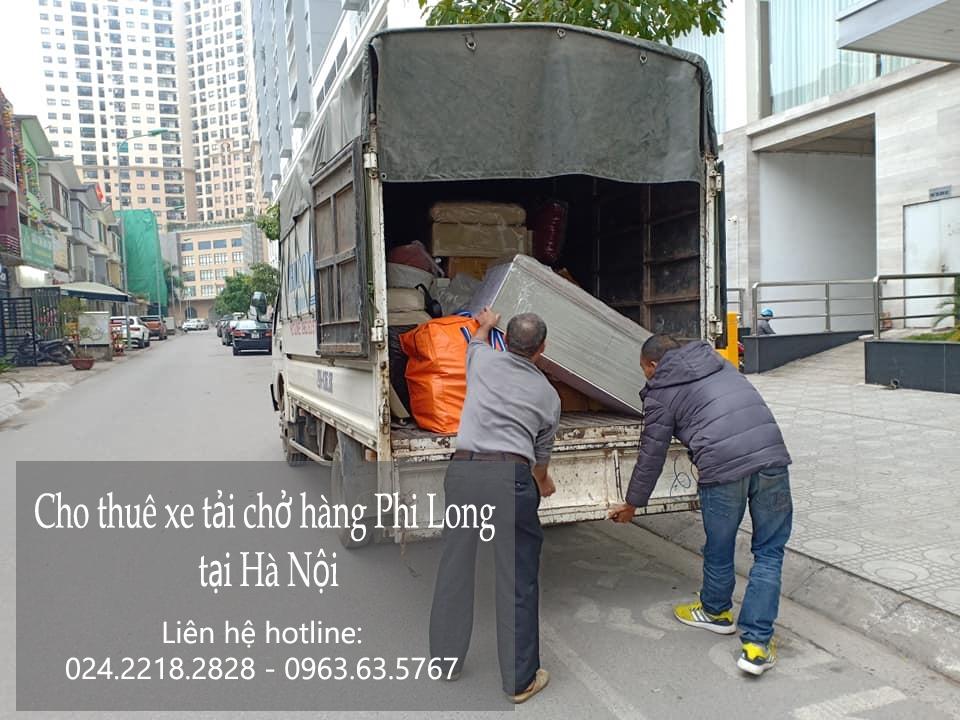 Dịch vụ xe tải chuyển nhà giá rẻ tại phố Lê Thanh Nghị