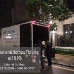 Xe tải chuyển nhà Phi Long tại phố Nguyễn Mậu Tài
