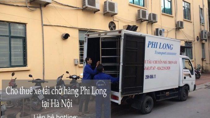 Xe tải chuyển nhà giá rẻ tại phố Đào Văn Tập