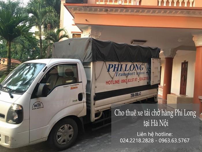 Dịch vụ xe tải chuyển nhà giá rẻ tại phố Nguyễn An Ninh