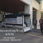 Dịch vụ xe tải chuyển nhà giá rẻ tại phố Minh Khai