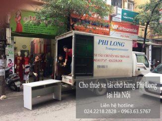 Xe tải chuyển nhà tại phố Hà Huy Tập