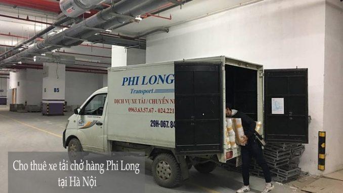 Xe tải chuyển nhà tại phố Dương Hà