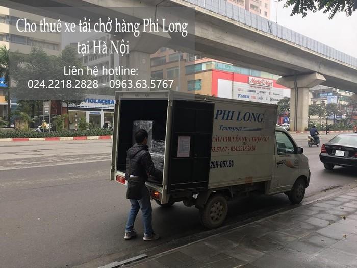 Dịch vụ xe tải chuyển nhà giá rẻ tại đường Nguyễn Phong Sắc
