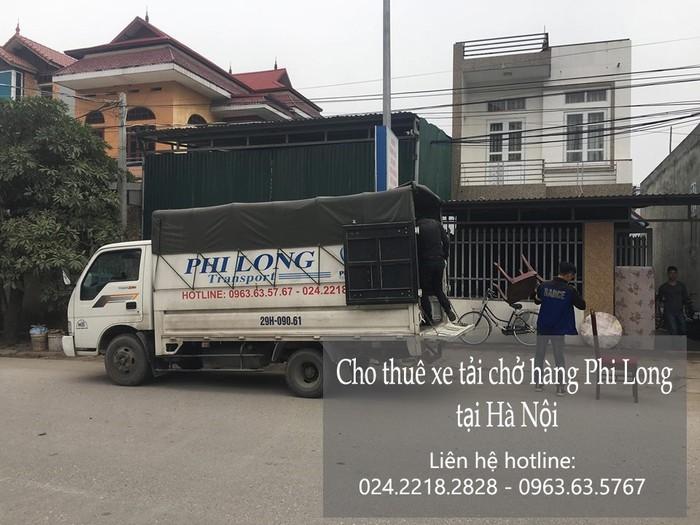 Dịch vụ xe tải chuyển nhà giá rẻ tại phố Quỳnh Lôi