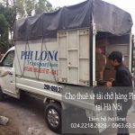 Dịch vụ xe tải chuyển nhà giá rẻ tại đường Hoàng Tăng Bí