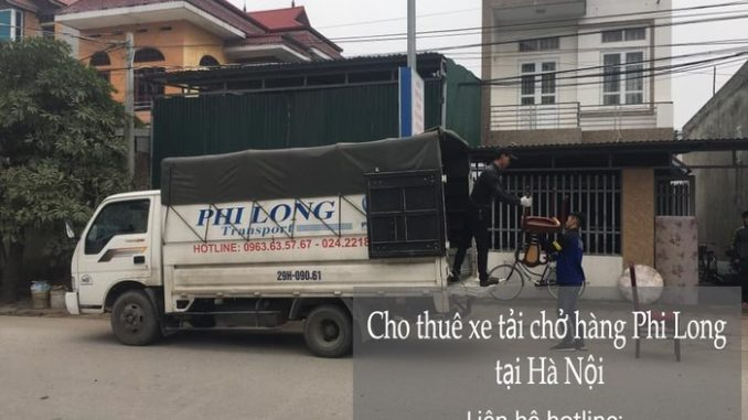 Xe tải chuyển nhà tại phố Xuân Đỗ
