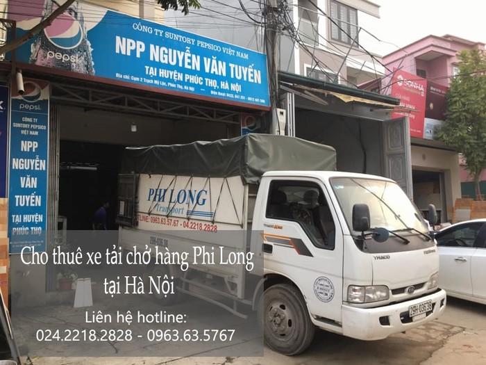 Xe tải chuyển nhà phố Ninh Hiệp