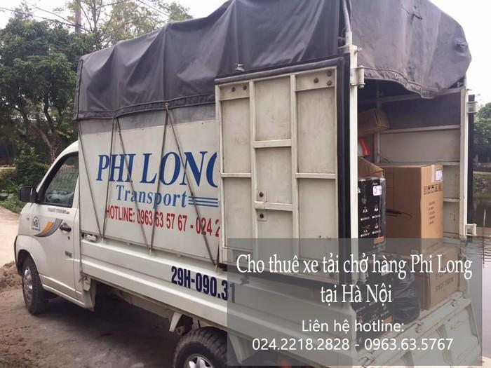 Xe tải chuyển nhà giá rẻ Phi Long tại phố Thiên Đức