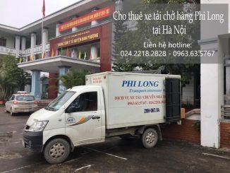 Xe tải chuyển nhà tại phố Nguyễn Huy Nhuận