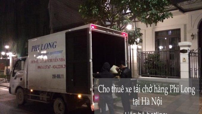 Xe tải chuyển nhà tại phố Chính Trung