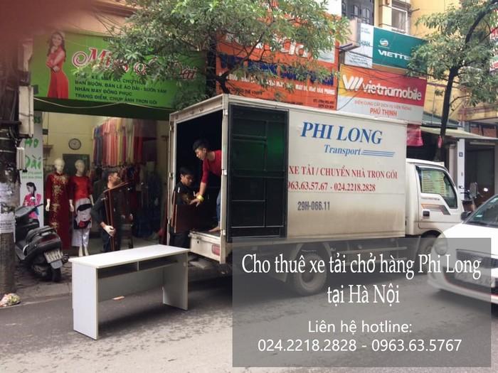 Xe tải chuyển nhà giá rẻ tại phố Ngô Gia Khảm
