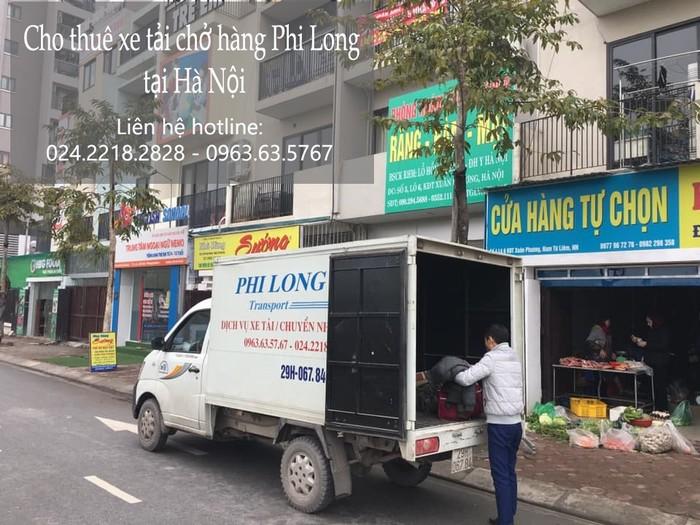 Xe tải chuyển nhà giá rẻ tại phố Kẻ Tạnh