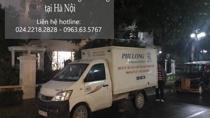 Dịch vụ xe tải chuyển nhà giá rẻ tại phố Nguyễn Thị Định