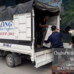 Xe tải chuyển nhà tại phố Vọng Đức